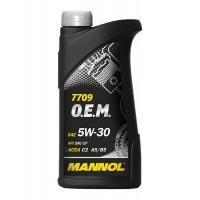 Täissünteetiline õli MANNOL 7709 O.E.M. 1L 5W30
