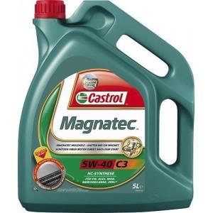 Täissünteetiline õli CASTROL Magnatec 4L 5W40 C3