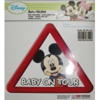 MCKFZ100 kleebis/DISNEY/BABY ON TOUR/MICKIE