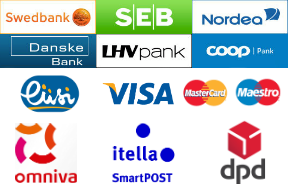 Payment methods and delivery options
