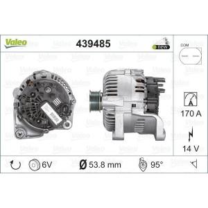 Generaator VALEO 439485