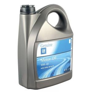 Полусинтетическое масло GM 10W40 A3/B3 5л