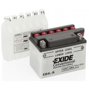 Стартерная аккумуляторная батарея EXIDE EB4L-B