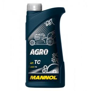 Kahetaktiline poolsünteetiline õli MANNOL Agro 1L