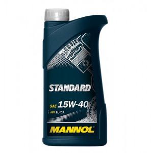 Минеральное масло MANNOL Standard 1L 15W40