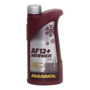 MANNOL JAHUTUSVEDELIK TOSOOL PUNANE 1L kontsentraat Longlife Antifreeze AF12+