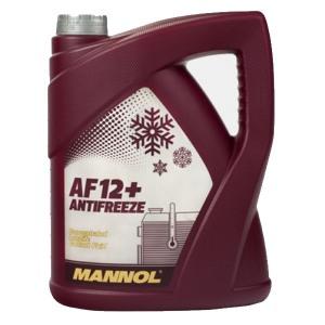 4c37051af84 MANNOL JAHUTUSVEDELIK TOSOOL PUNANE 5L kontsentraat Longlife Antifreeze  AF12+