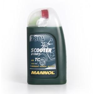 Kahetaktiline õli MANNOL 7804 Scooter 1L API TC