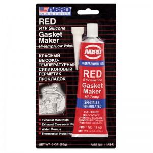 ABRO 11-AB Silikoonisoleer (punane) 85g