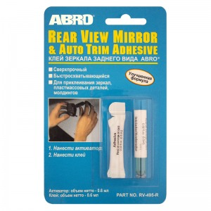 ABRO RV-495 Salongi peegli liim 6ml