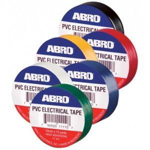 ABRO ET-912 Isoleerpael, must 19mm*9M