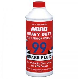 ABRO BF-99-4-16 Тормозная жидкость DOT-4 485мл