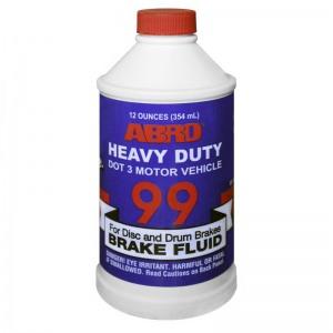 ABRO BF-99-P12A Тормозная жидкость DOT-3 354мл