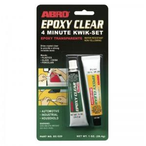 ABRO EC-520 Эпоксидный клей, прозрачный 28.4г