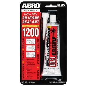 ABRO SS-1200 Silikoonhermeetik, must 85g