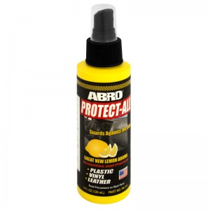 PA-312 Полироль панели защитная с запахом лимона 120мл ABRO