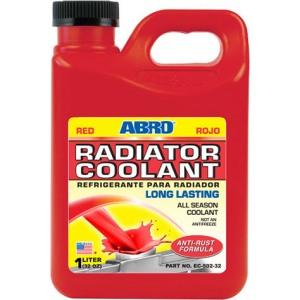 EC-502-32 Охлаждающая жидкость радиатора (красная) 946ml ABRO