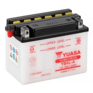 Стартерная аккумуляторная батарея YUASA YB4L-A