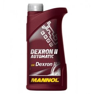 Масло для автоматических коробок передач MANNOL Dexron II Automatic 1L