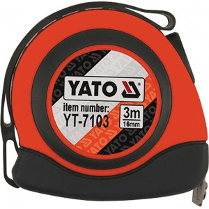 Mõõdulint 3m*16mm (YATO YT-7103)