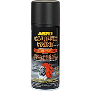 ABRO CP-555-BLK Краска-спрей для тормозных суппортов, черная 312гр