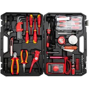 YATO YT-39009 elektriku tööriistakomplekt 68tk