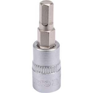 "YT-04372 padrun/HEX 1/4"" 5mm37mm"