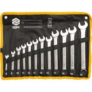 51710 Набор комбинированных ключей 12шт 6-22мм VOREL