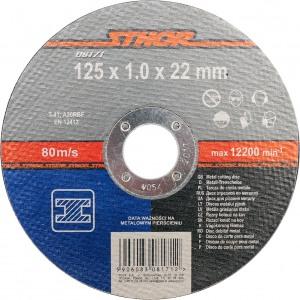 08171 Lõikeketas metalli 125*1,0*22mm STHOR