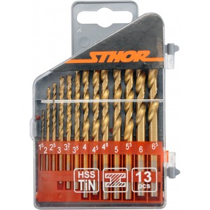 22300 metallipuuride komplekt 1,5-6,5mm 13tk STHOR
