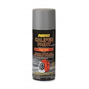 CP-555-SIL ABRO Краска-спрей для тормозных суппортов с добавлением керамических полимеров серебряная 312гр