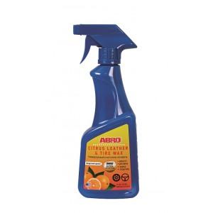 CLT-016 ABRO Полироль-очиститель универсальный Цитрус 0.473 л