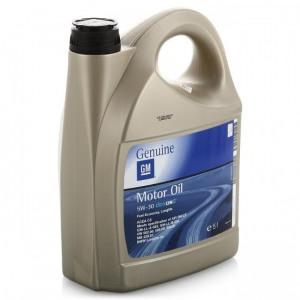 Синтетическое масло GM 5W30 Dexos2 Fuel Economy Longlife 5л
