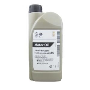 Täissünteetiline õli GM 5W30 Dexos2 Fuel Economy Longlife 1L