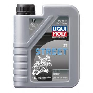 MOTO Street 2T poolsünt. tsikliõli 1L LIQUI MOLY