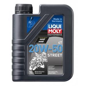 MOTO Street 4T miner. 20W-50 1L LIQUI MOLY