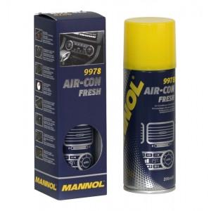 9978 Konditsioneeri puhastusvahend aerosool 200ml MANNOL Air-Con Fresh
