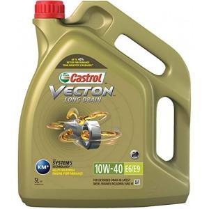 Täissünteetiline õli Vecton Long Drain 10W40 E6/E9 5L CASTROL