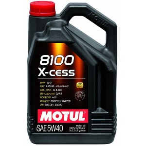 Täissünteetiline õli 5W40 MOTUL 4L 104256