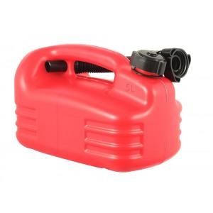 Kütusekanister madal 5L punane ONROAD Premium