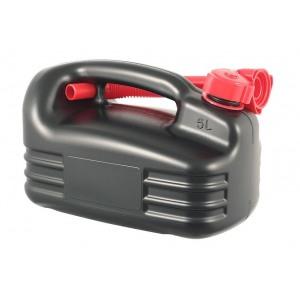 Kütusekanister madal 5L must ONROAD Premium
