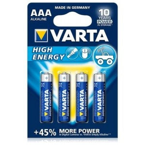 patarei VARTA High Energy AAA LR03 1tk