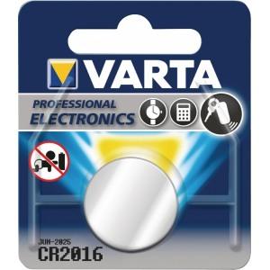 Liitium patarei 3V 90mAh VARTA CR2016
