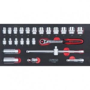 Tööriistade komplekt KS TOOLS 713.3025