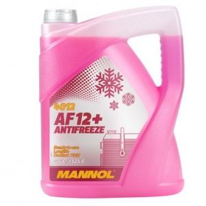 Jahutusvedelik MANNOL AF12+ -40°C Antifreeze 5L Tosool punane