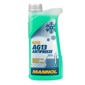 MANNOL JAHUTUSVEDELIK TOSOOL ROHELINE 1L Hightec Antifreeze AG13 -40°C