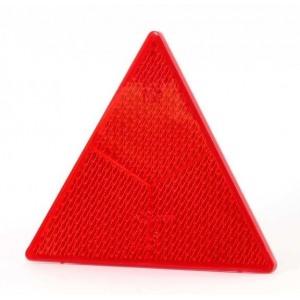 Helkur kolmnurkne punane poltidega 15x15x15cm 1tk