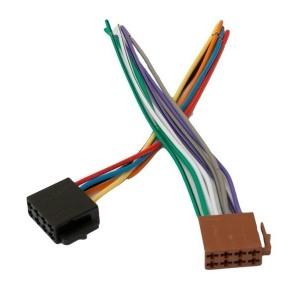 Autostereo ühendamise ISO-pistikud, autopoolne