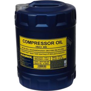 Kompressoriõli MANNOL ISO 46 10L DIN 51506