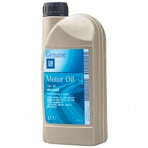Синтетическое масло GM 5W30 DEXOS2 1L
